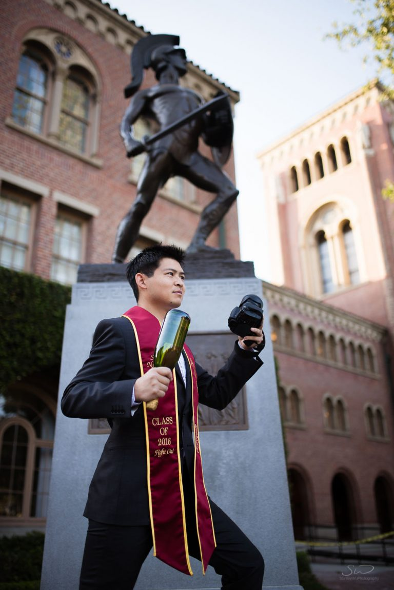 Sonny – USC Graduation Portrait Session – Fight on!