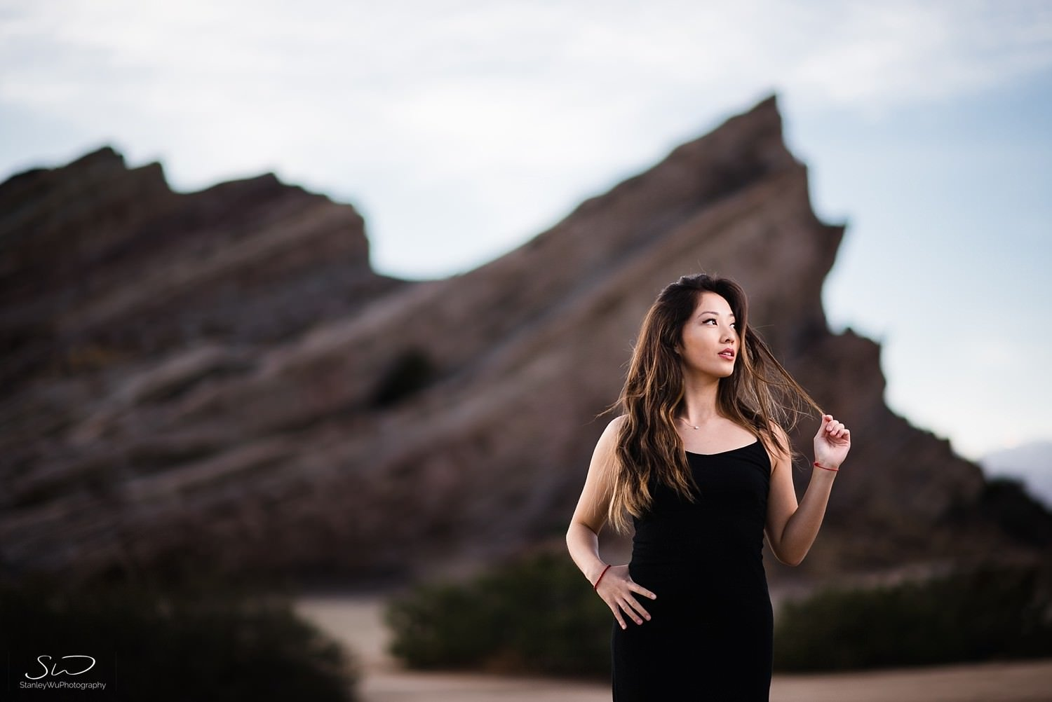 Desert Portraits at Vasquez Rocks