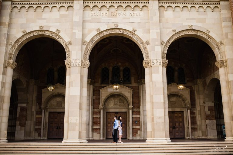 Tiffany + Josh – UCLA Couple Session