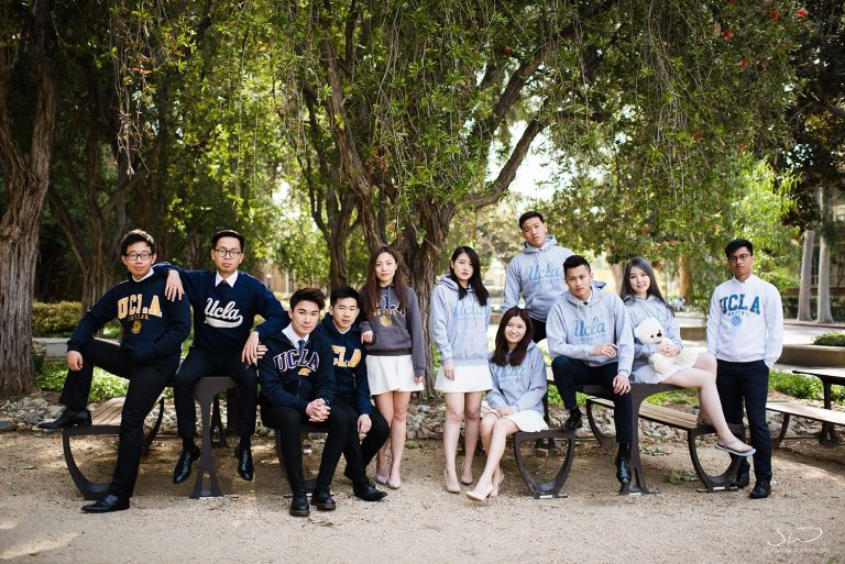 Stella & Friends – UCLA Group Graduation Portraits