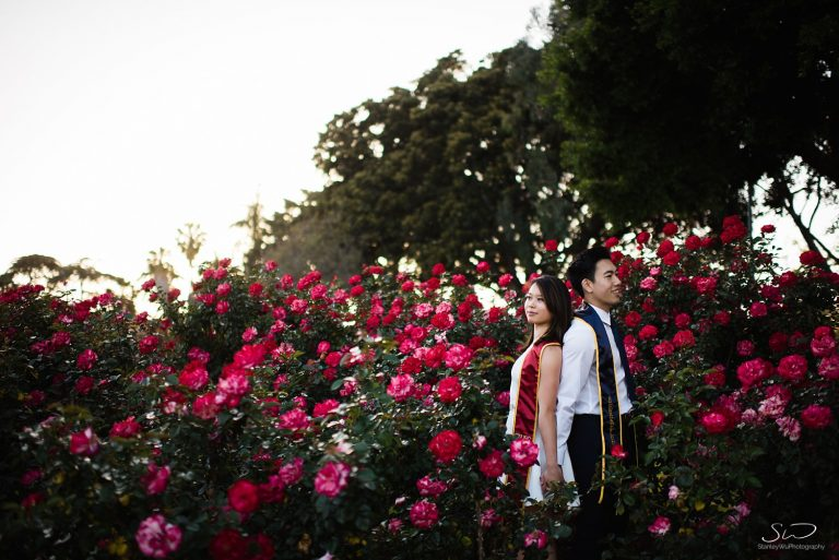 Tiffany + Brian – USC + UC Berkeley Graduation Portraits