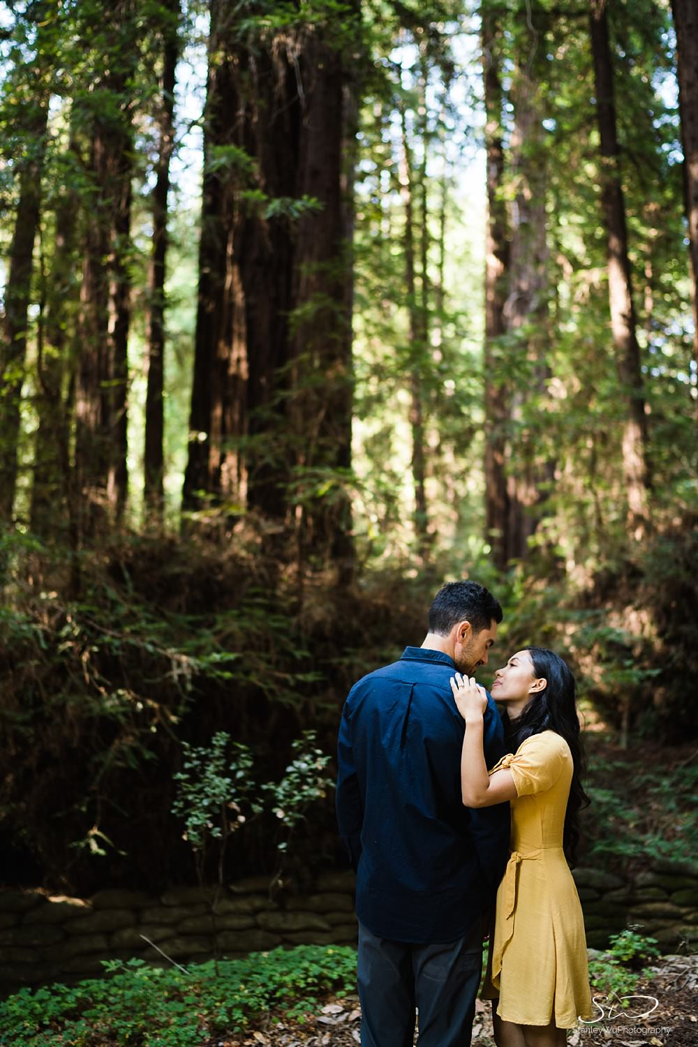 Sarah + Cameron – Big Sur Engagement 34
