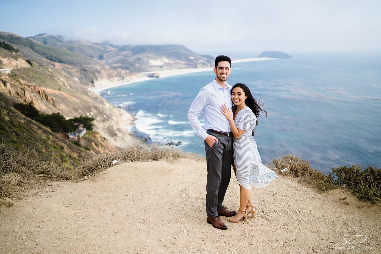 Sarah + Cameron – Big Sur Engagement 38