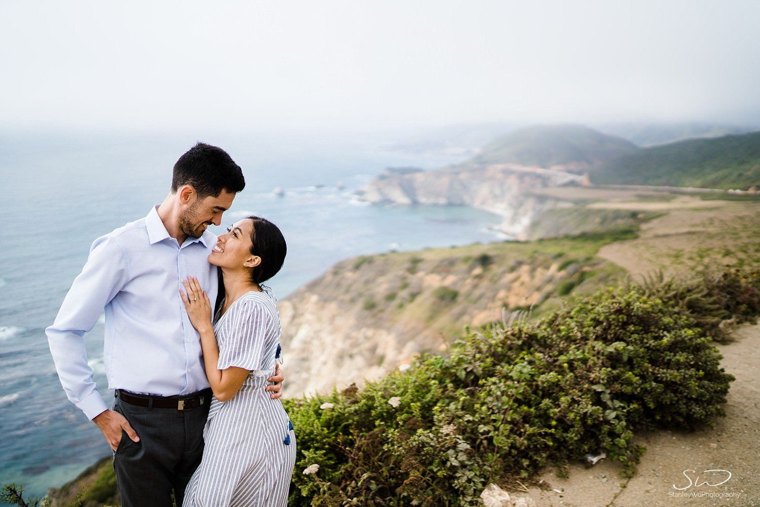 Sarah + Cameron – Big Sur Engagement 48