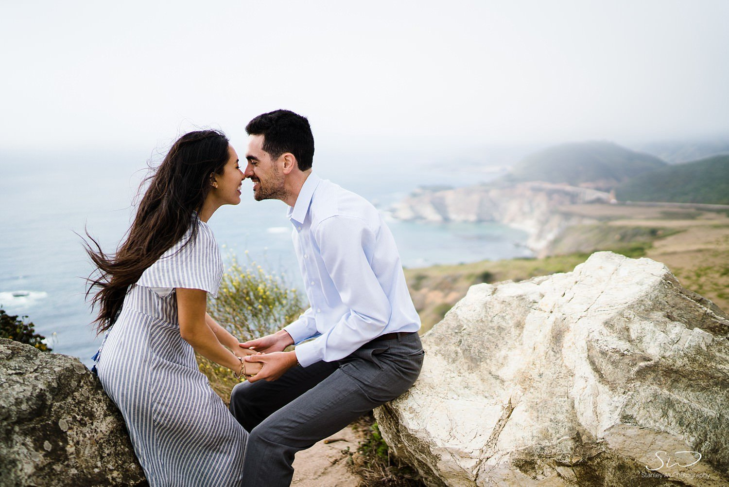 Sarah + Cameron – Big Sur Engagement 52