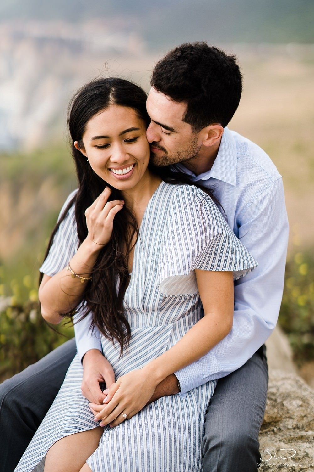 Sarah + Cameron – Big Sur Engagement 56