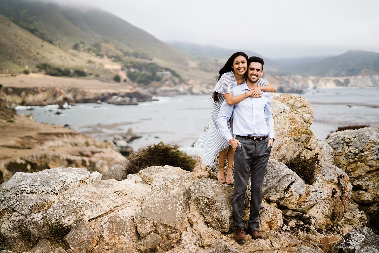 Sarah + Cameron – Big Sur Engagement 68