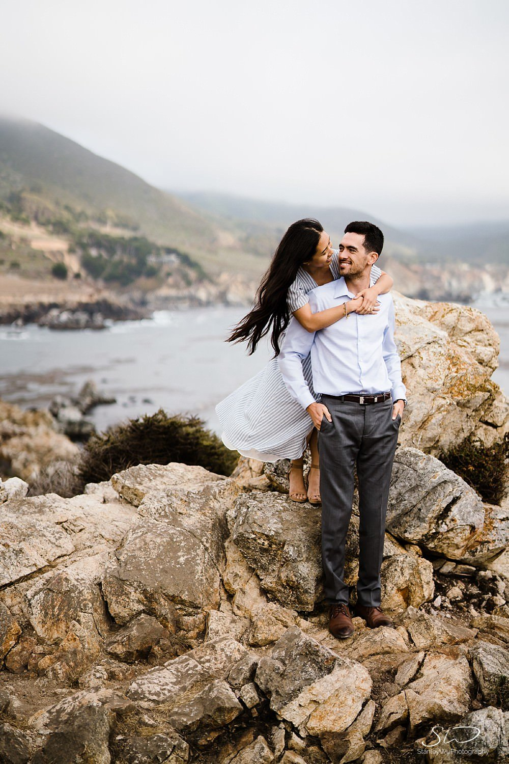 Sarah + Cameron – Big Sur Engagement 70