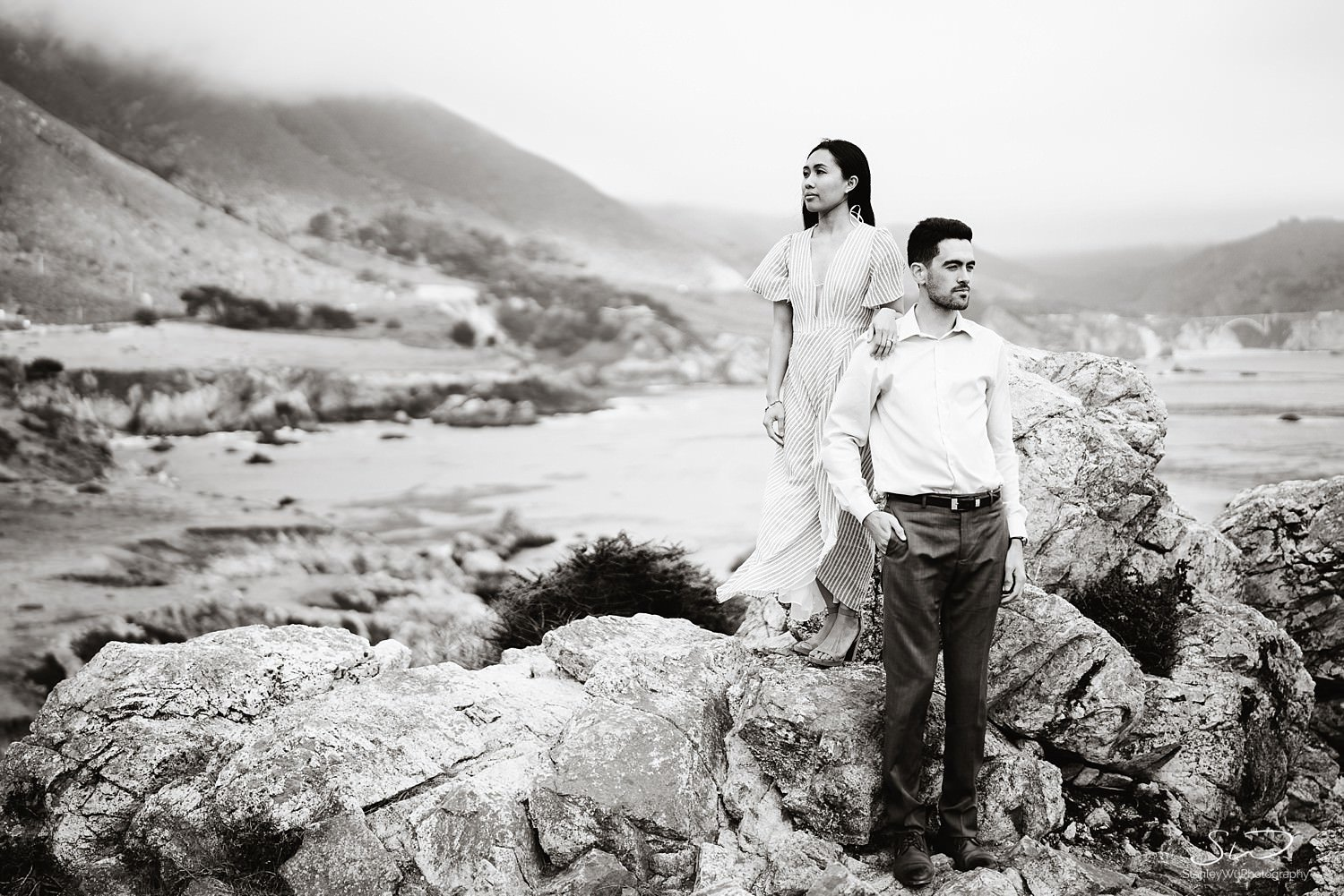 Sarah + Cameron – Big Sur Engagement 72