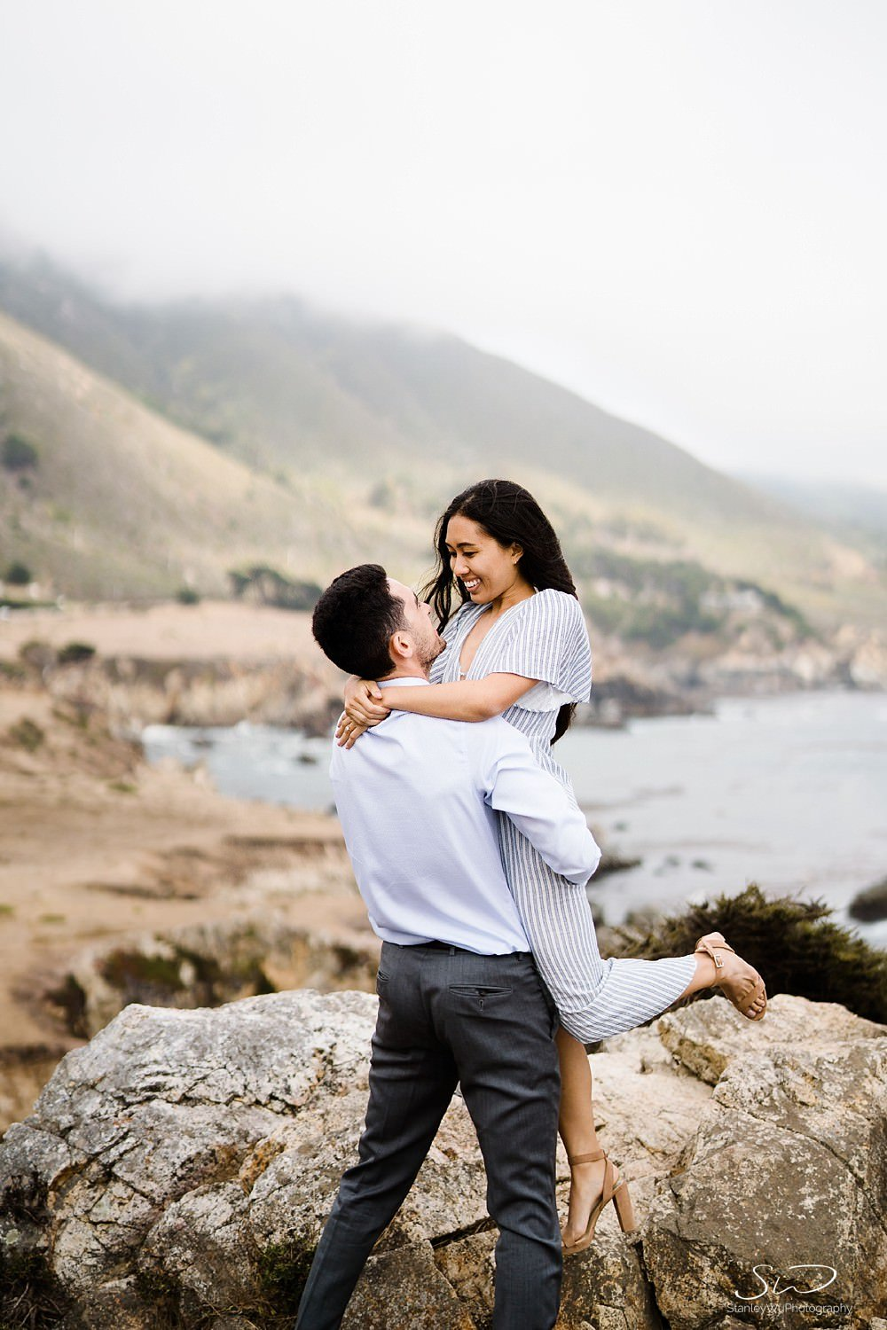 Sarah + Cameron – Big Sur Engagement 74