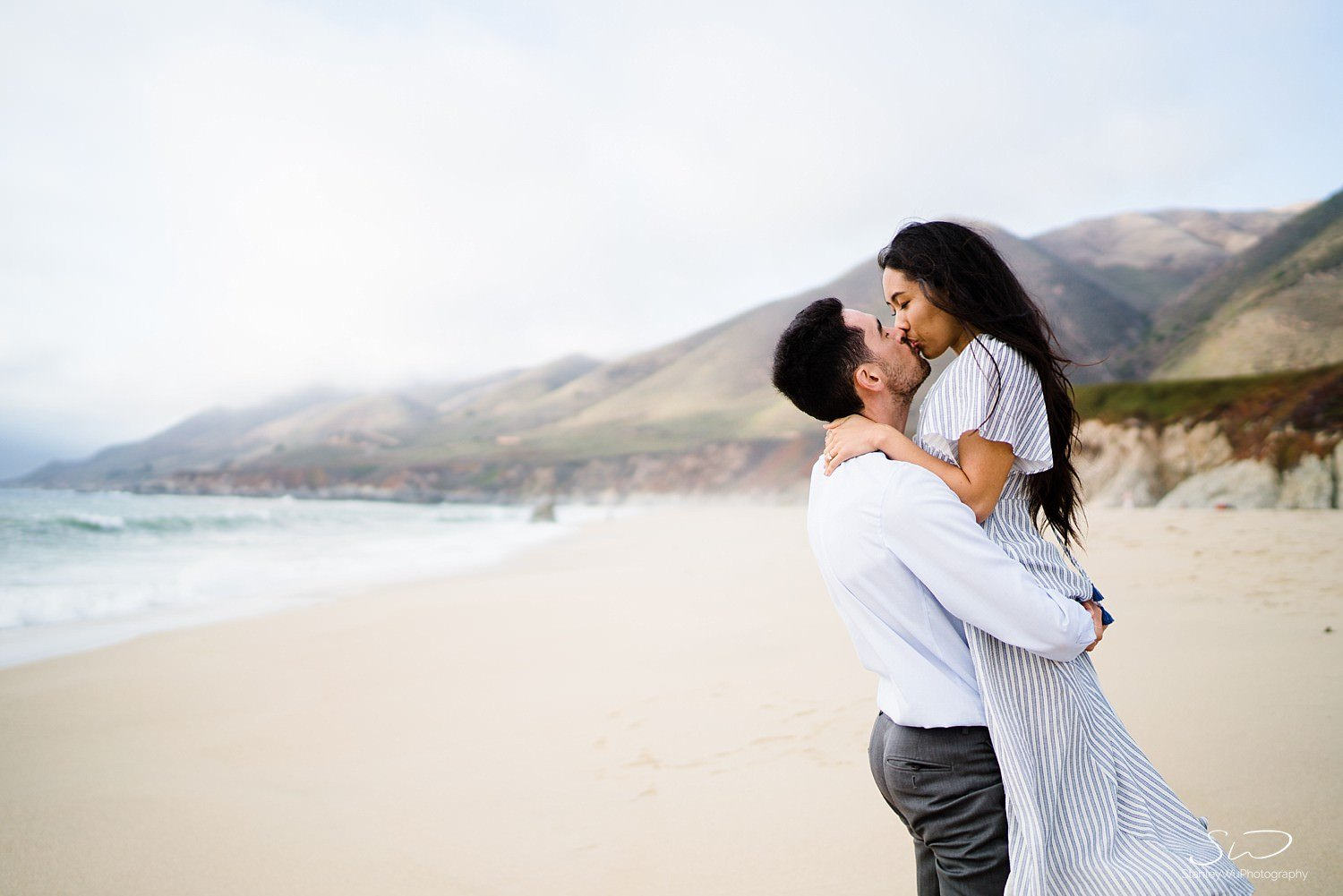 Sarah + Cameron – Big Sur Engagement 84