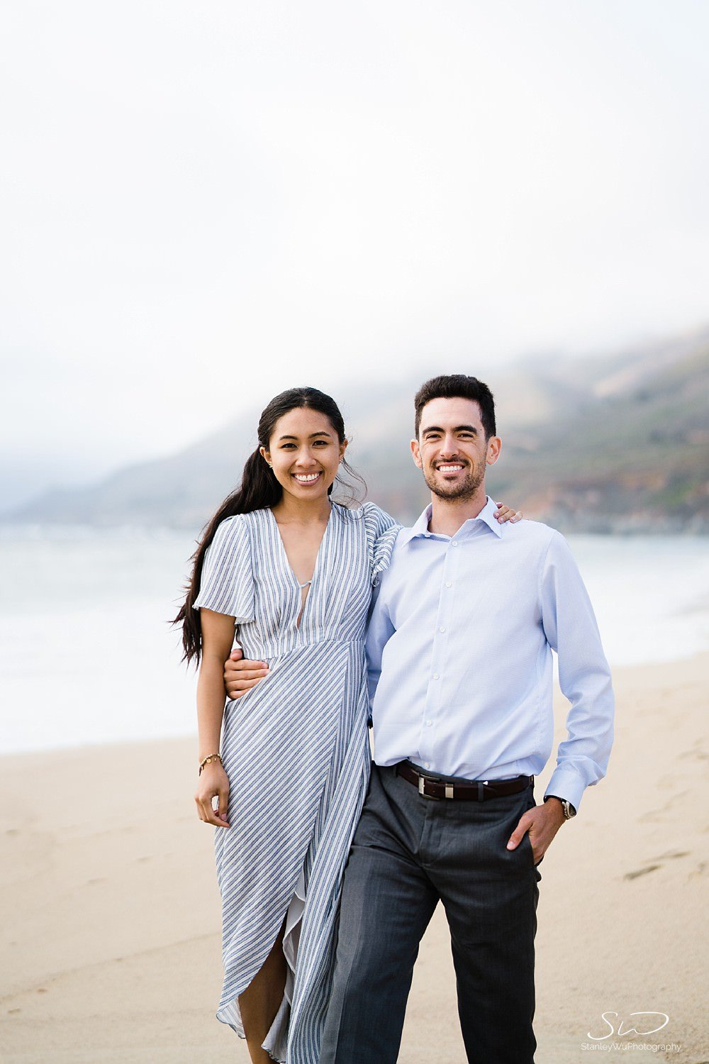 Sarah + Cameron – Big Sur Engagement 94