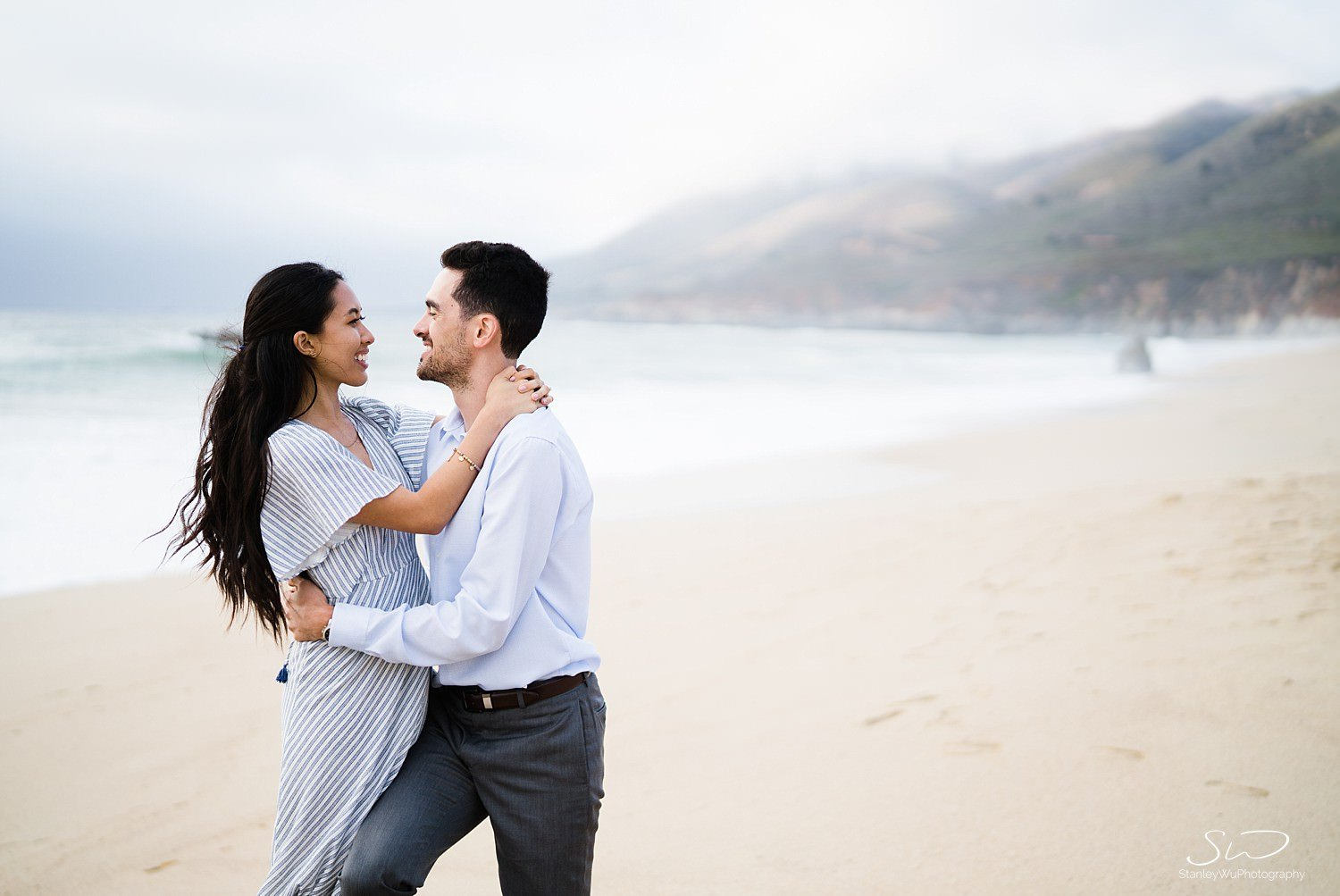 Sarah + Cameron – Big Sur Engagement 96