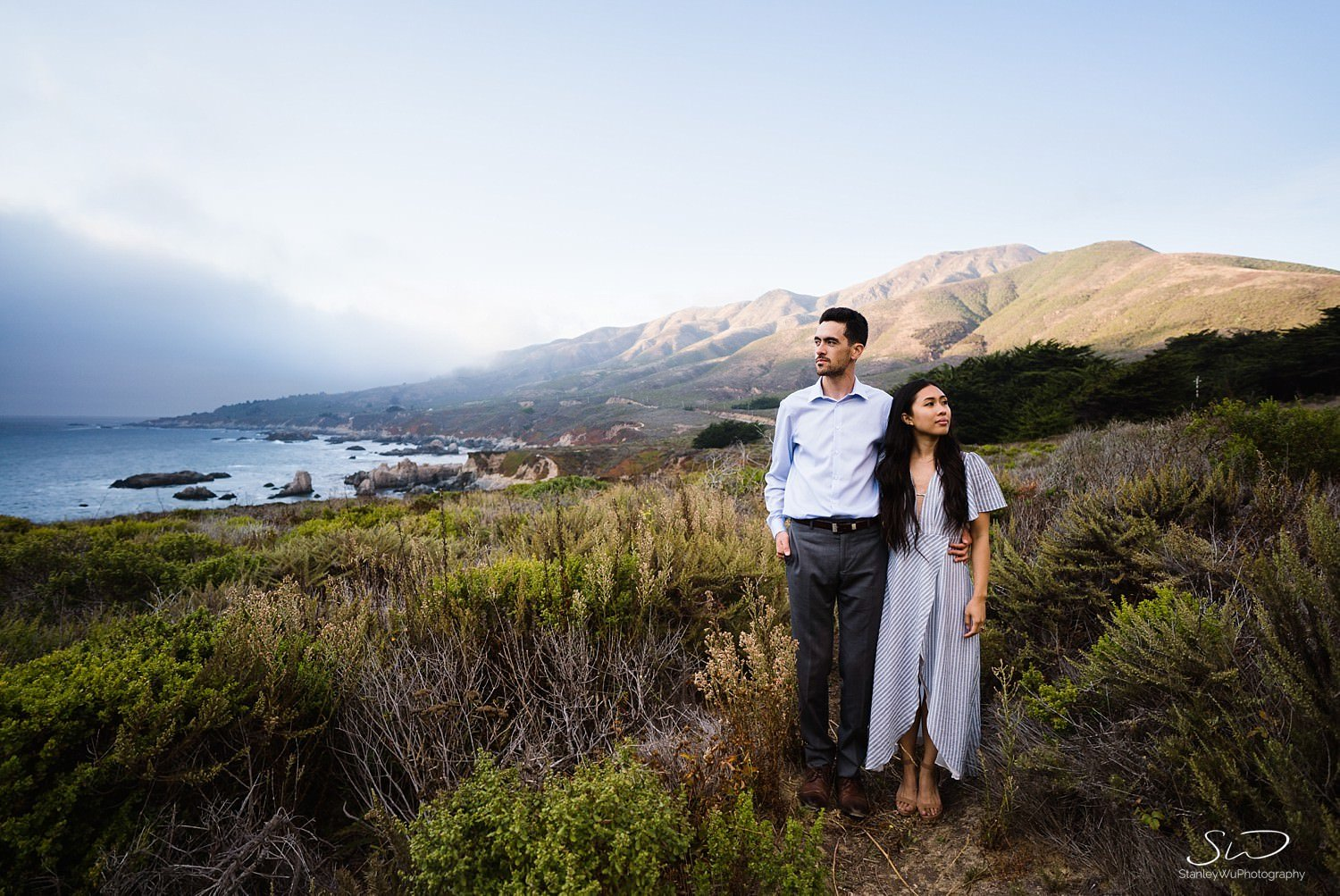 Sarah + Cameron – Big Sur Engagement 106