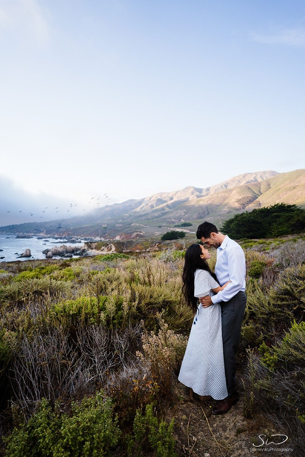 Sarah + Cameron – Big Sur Engagement 108