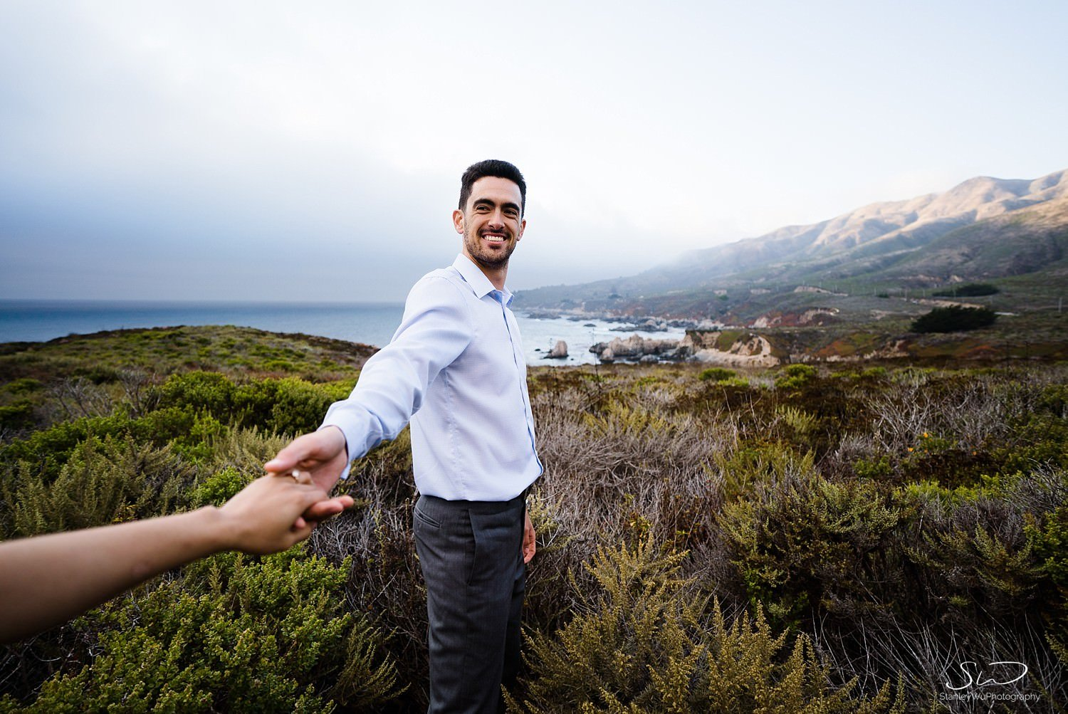 Sarah + Cameron – Big Sur Engagement 110