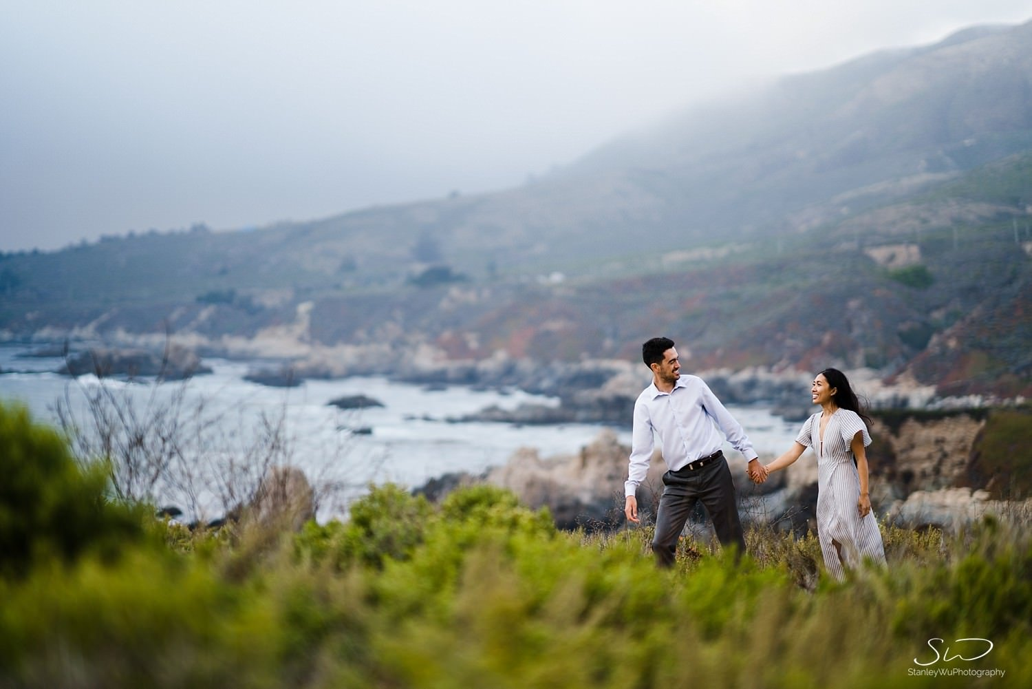 Sarah + Cameron – Big Sur Engagement 112