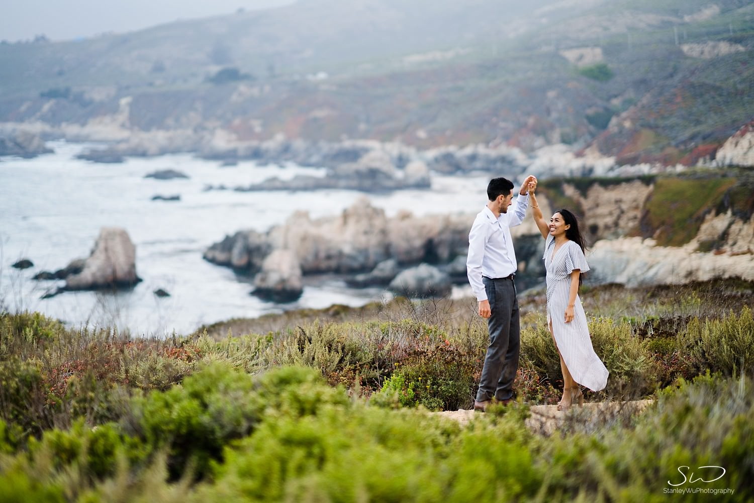 Sarah + Cameron – Big Sur Engagement 116