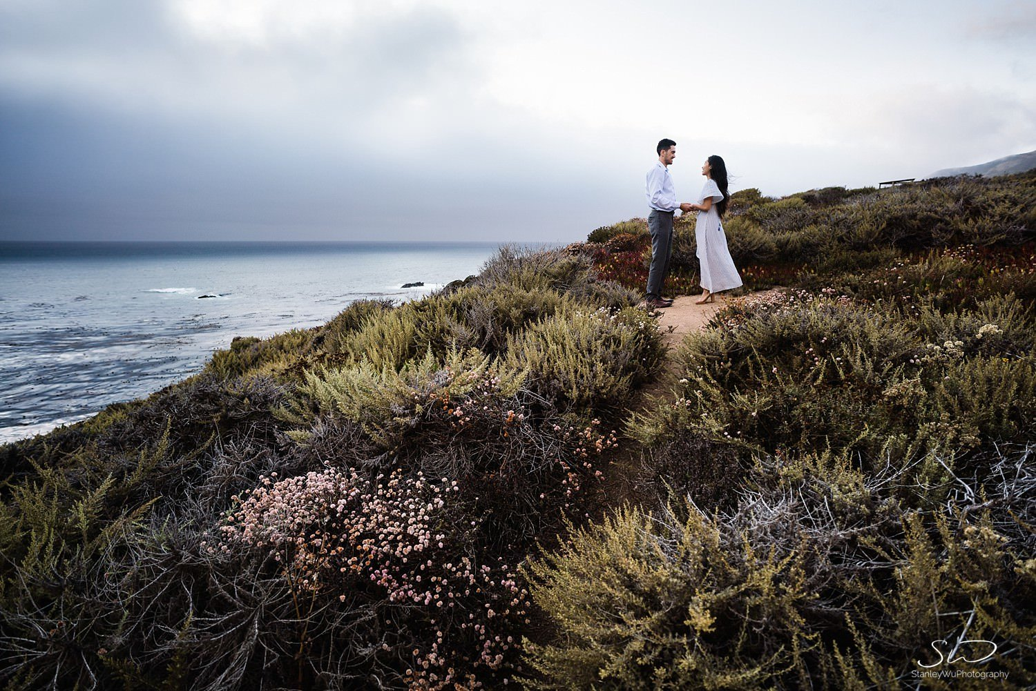 Sarah + Cameron – Big Sur Engagement 118