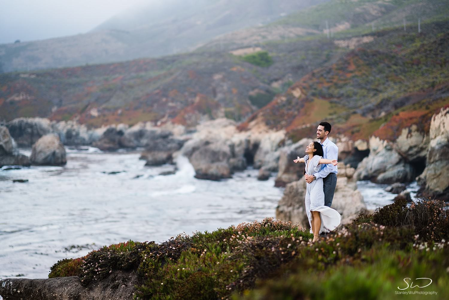 Sarah + Cameron – Big Sur Engagement 138
