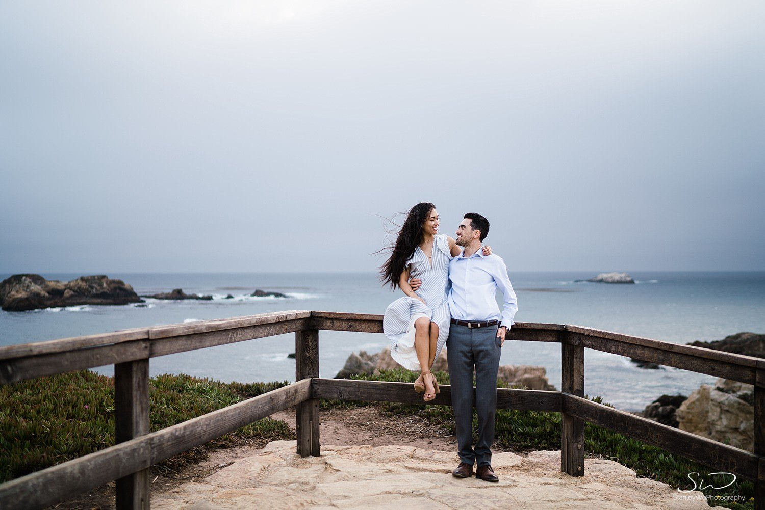 Sarah + Cameron – Big Sur Engagement 140