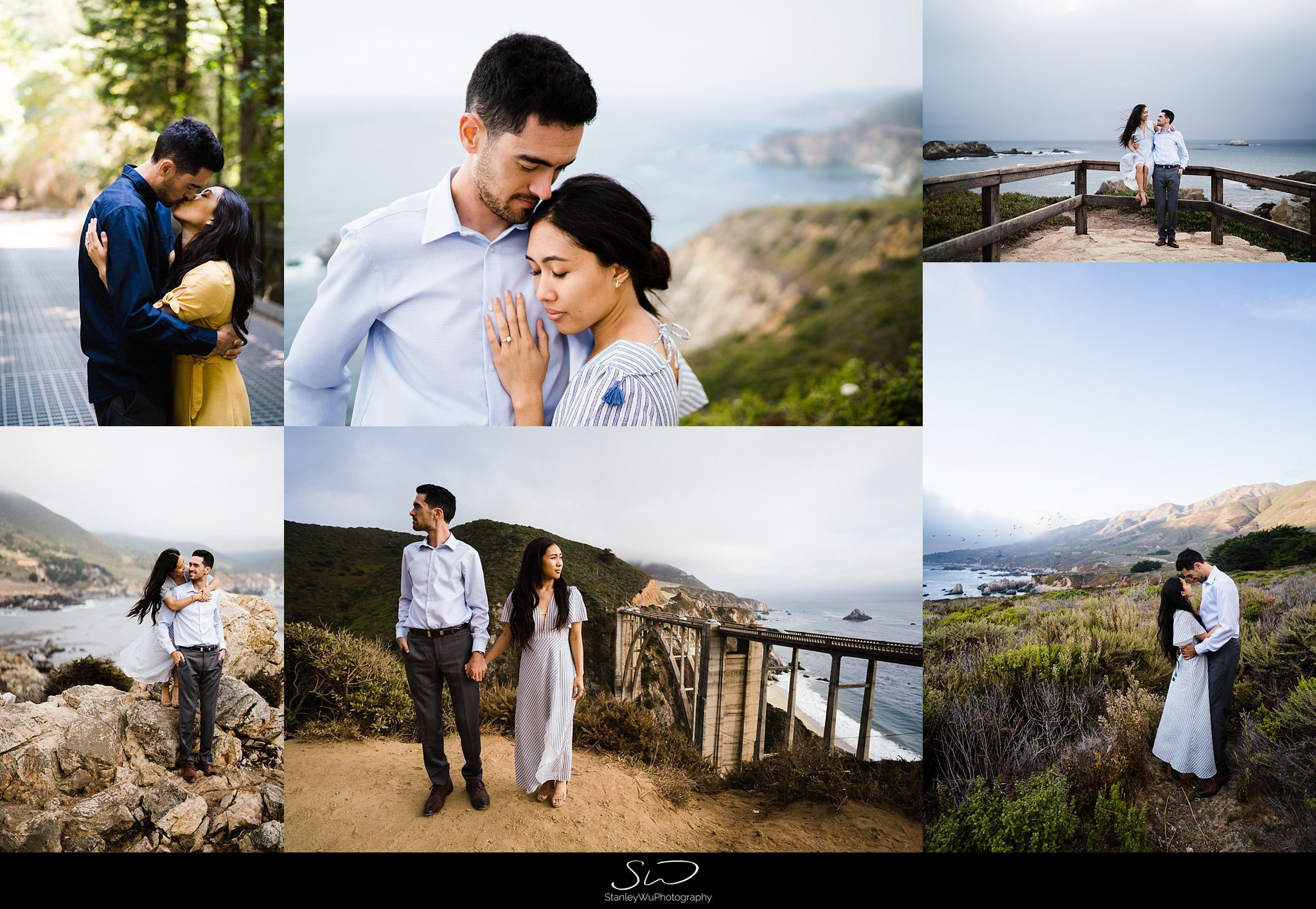 Sarah + Cameron – Big Sur Engagement 2