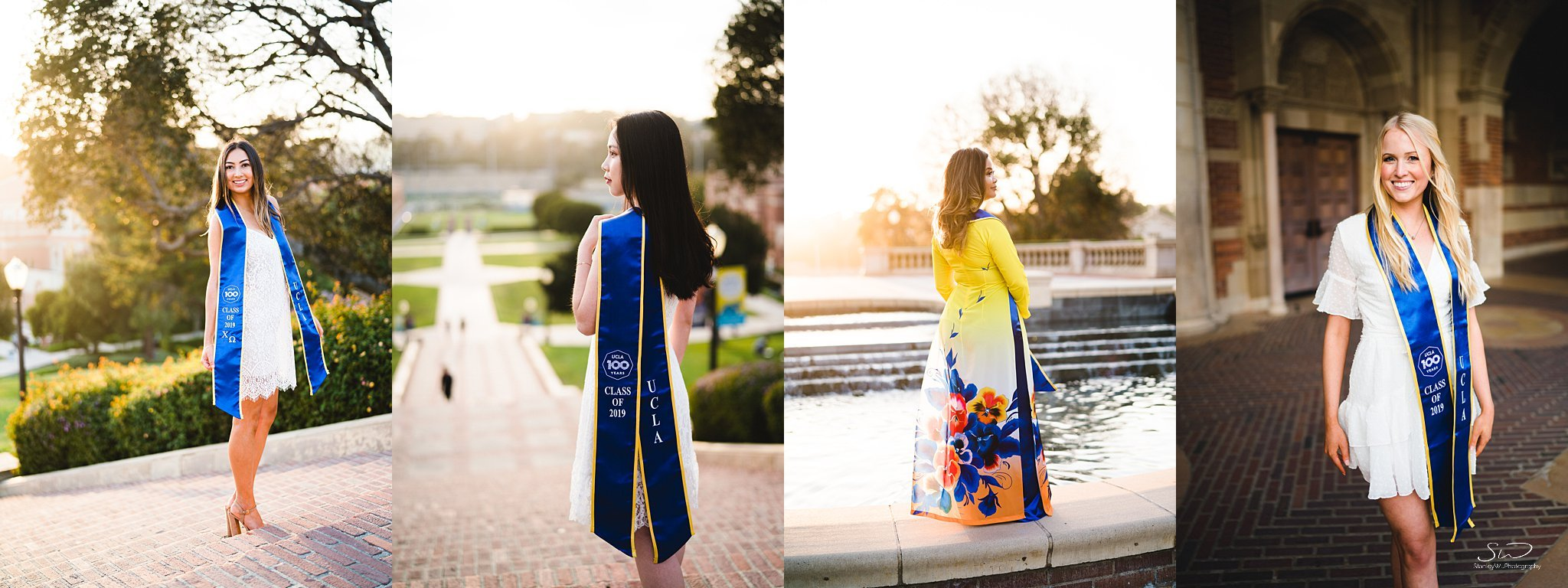 collage ucla los angeles graduation photographer