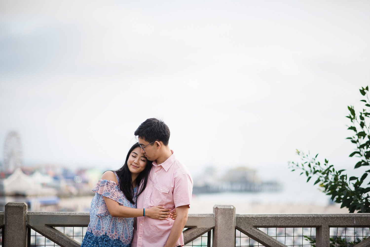 Amy + Andy – Downtown Santa Monica Engagement 34