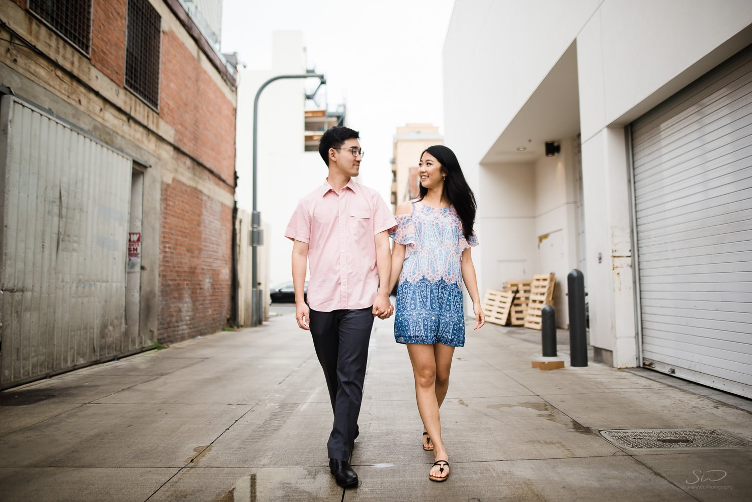 Amy + Andy – Downtown Santa Monica Engagement 4