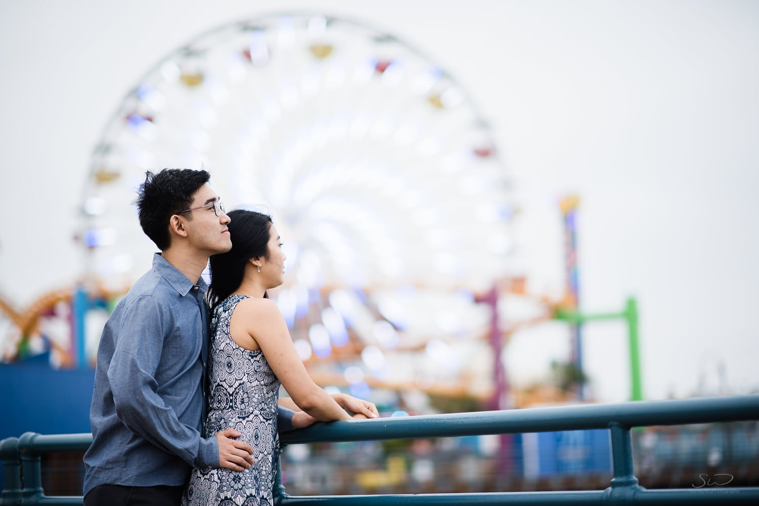 Amy + Andy – Downtown Santa Monica Engagement 68
