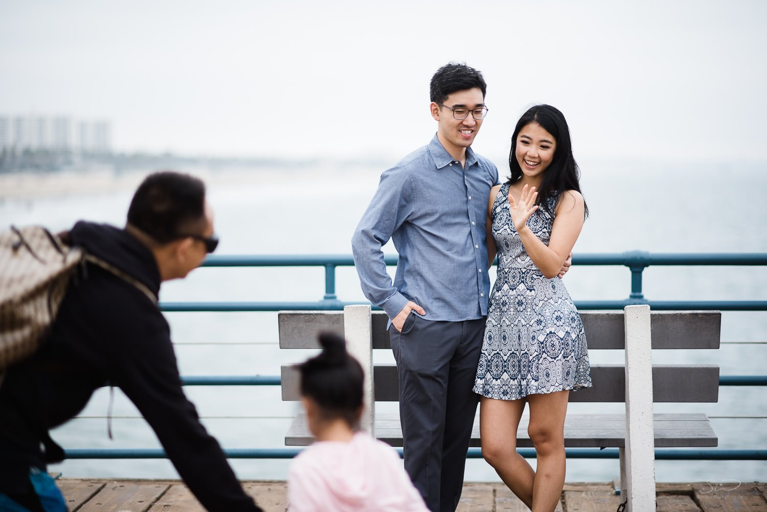 Amy + Andy – Downtown Santa Monica Engagement 74