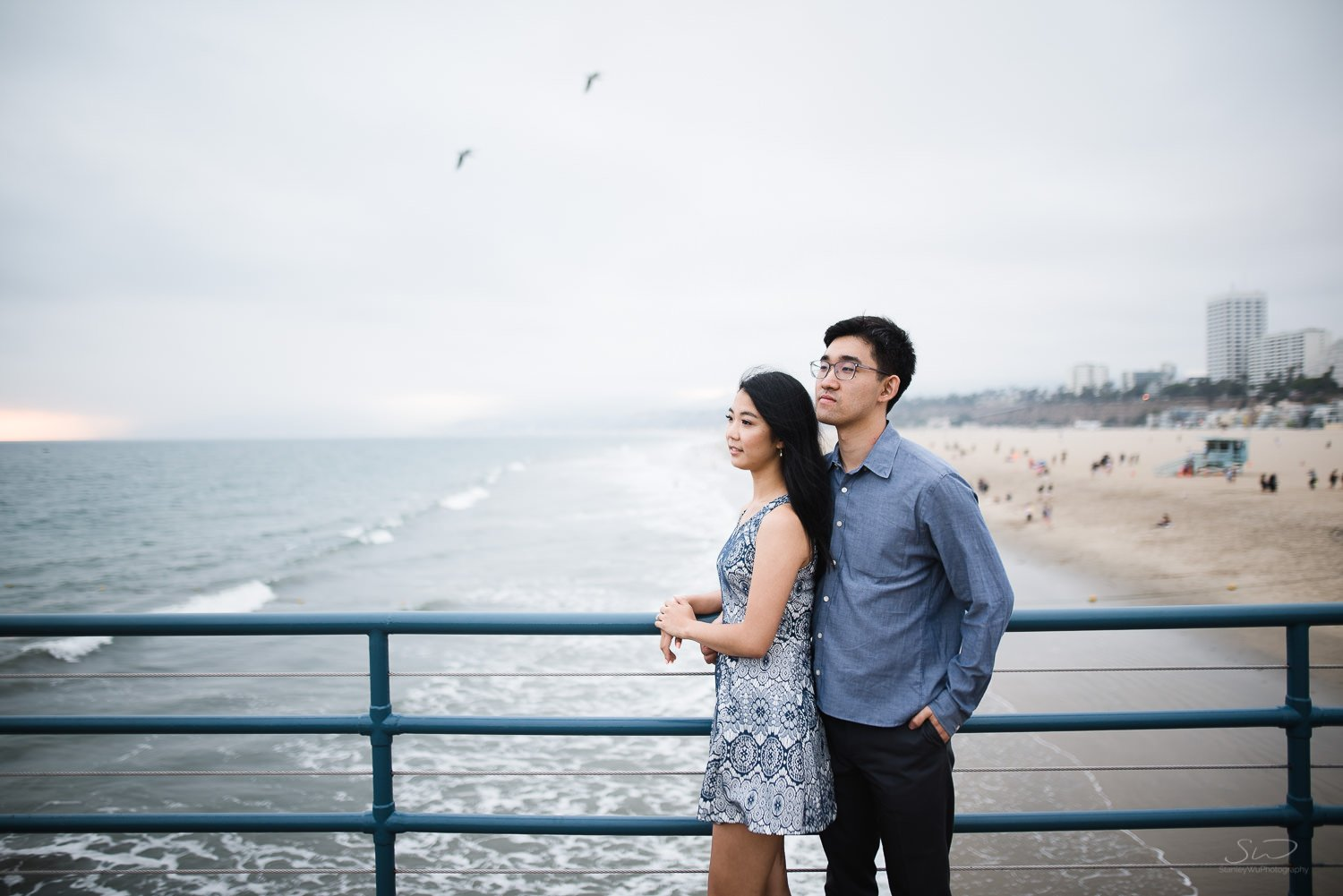 Amy + Andy – Downtown Santa Monica Engagement 78