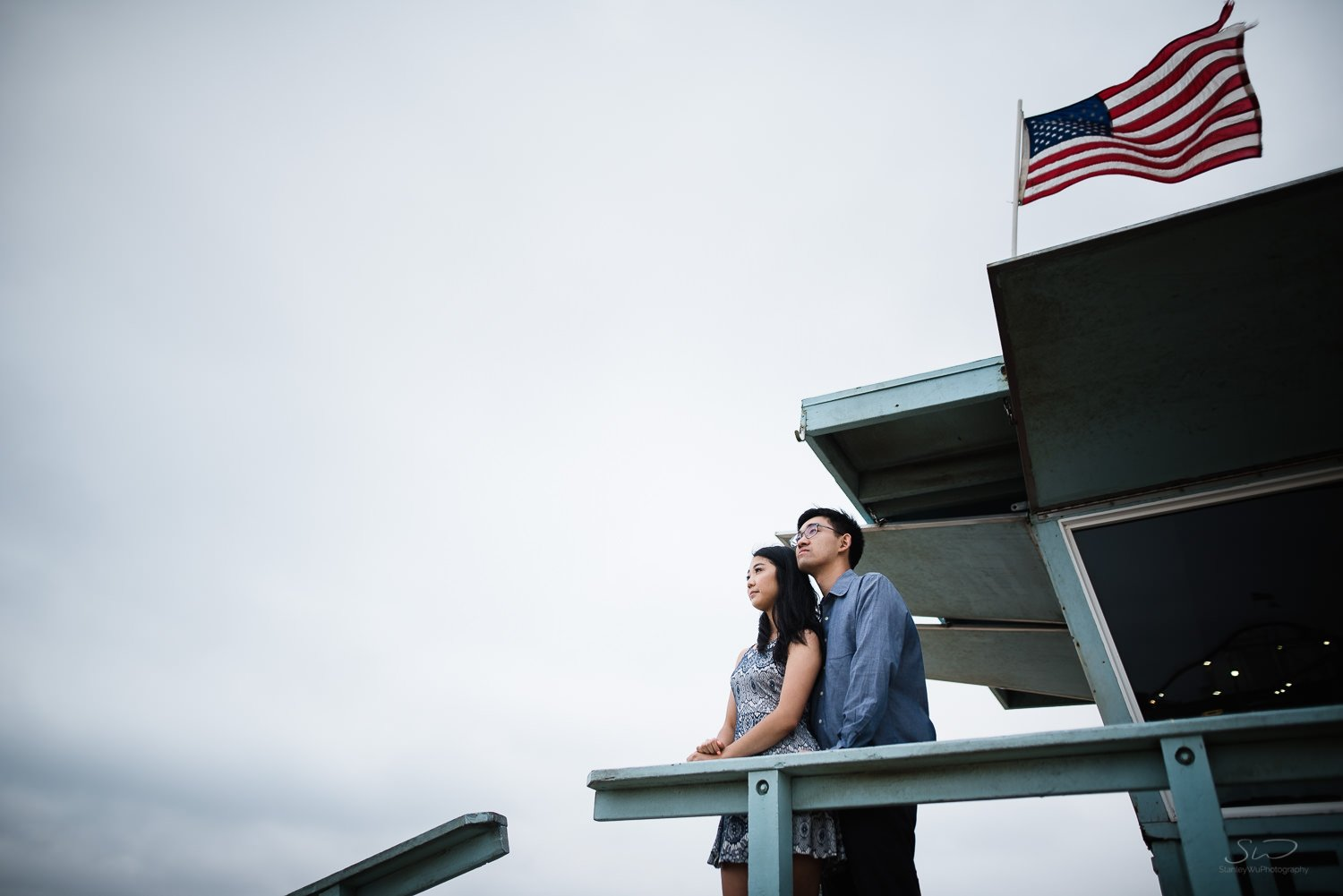 Amy + Andy – Downtown Santa Monica Engagement 84