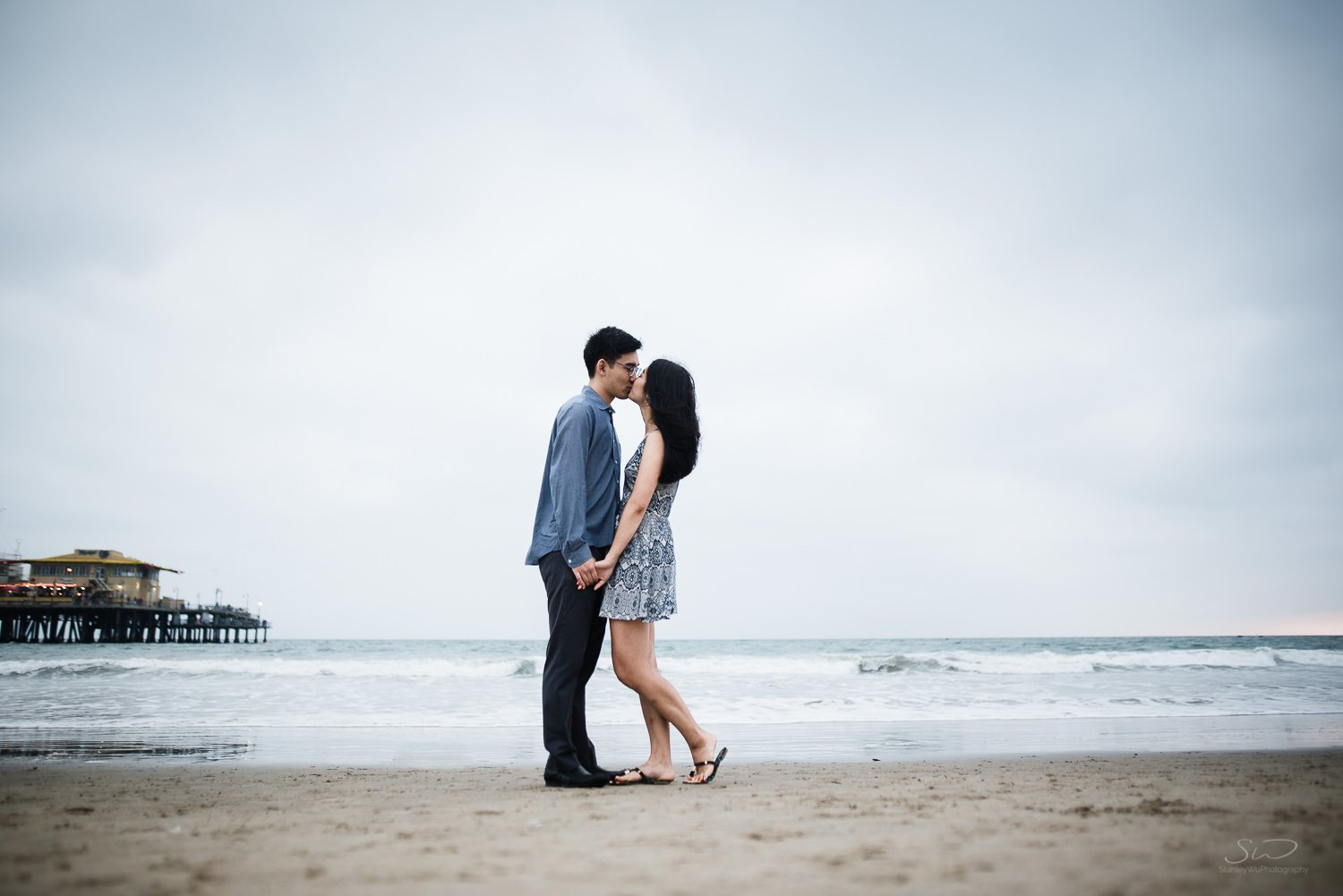 Amy + Andy – Downtown Santa Monica Engagement 82