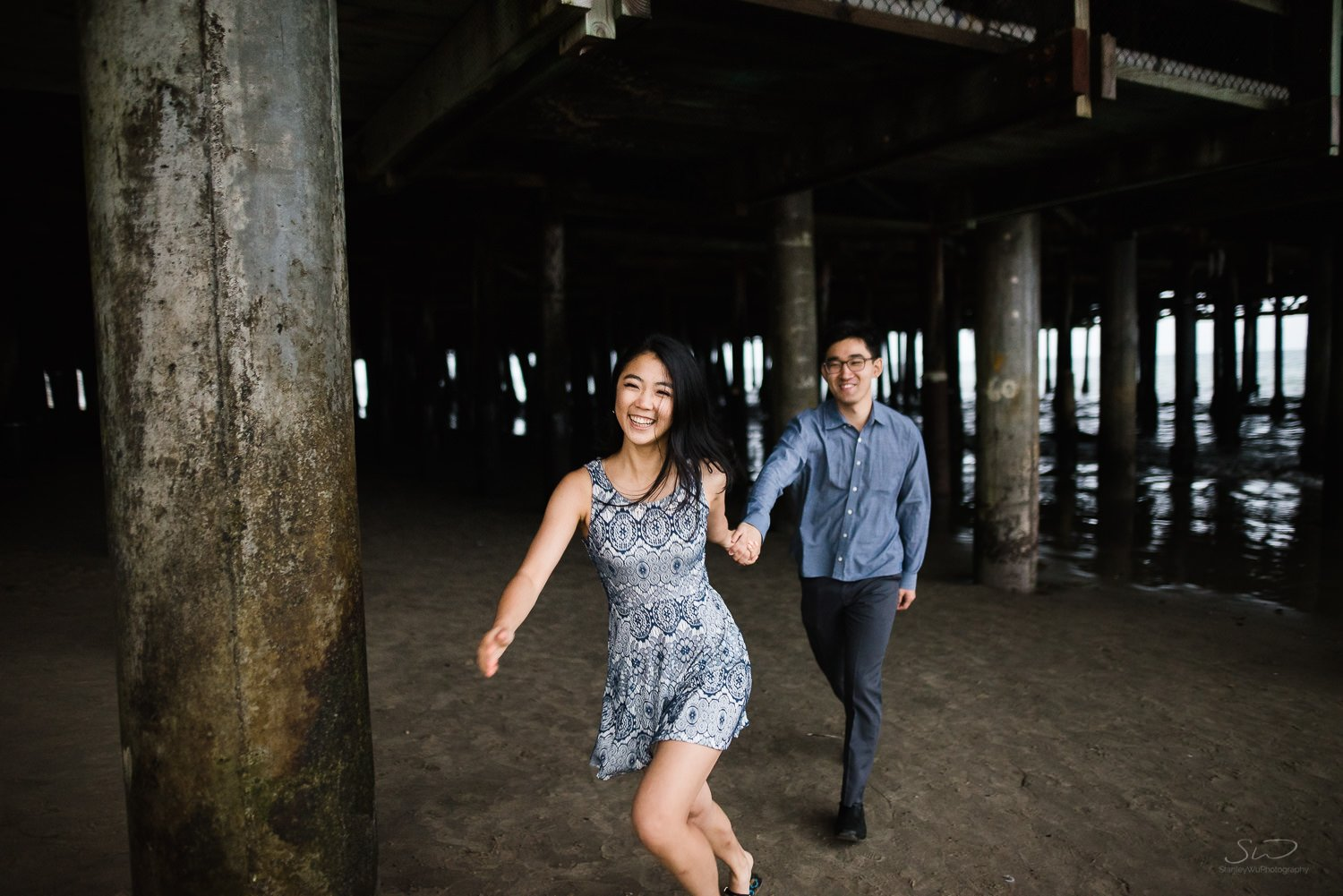 Amy + Andy – Downtown Santa Monica Engagement 96