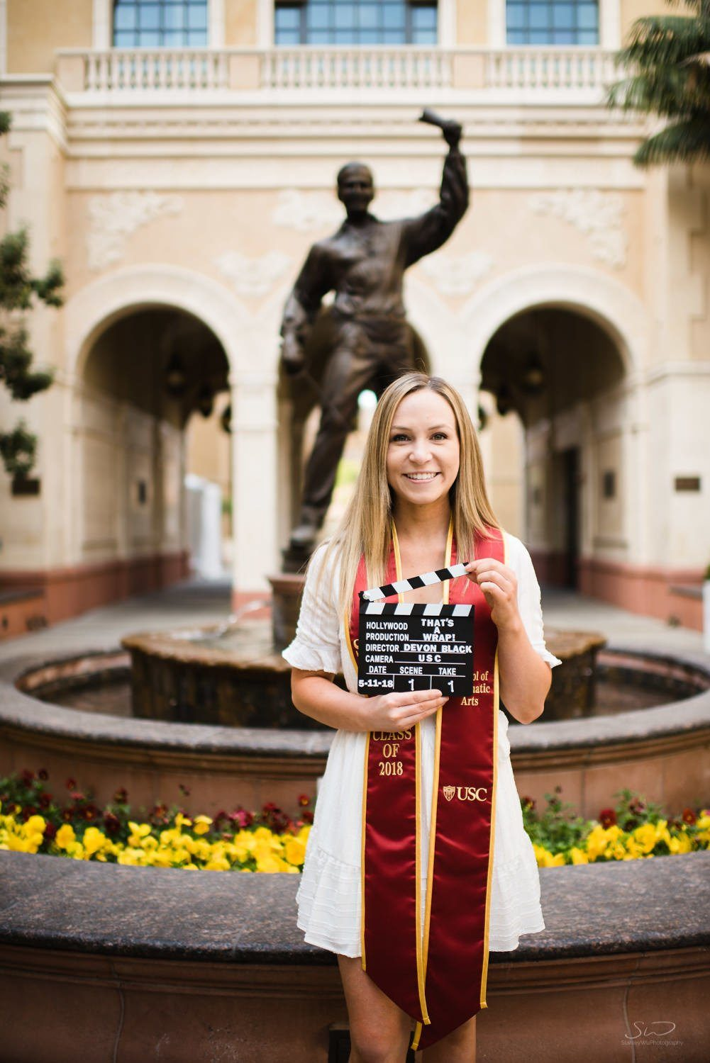 usc graduation portraits los angeles