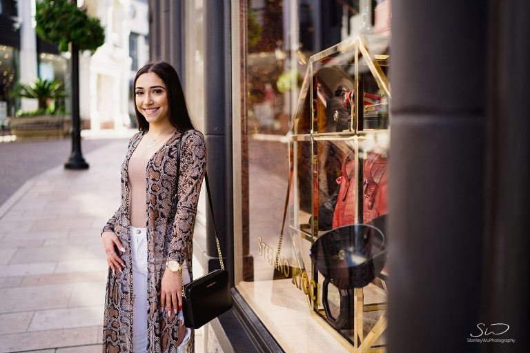 Crystal – High School Senior Portraits in Beverly Hills